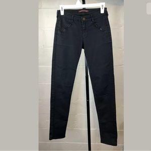 Comptoir Des Cotonniers Pants Navy Blue Skinny